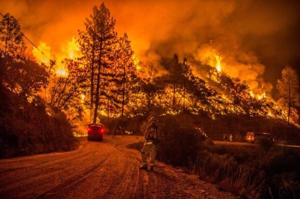 SkogsbrandKalifornien